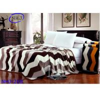 China Excellent quality super soft mink blanket fabric on sale