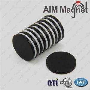 China Epoxy coated Magnet 6.35 x 3.175 mm on sale