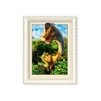 Quality Colorful Amazing Animal 5D Pictures 12x17 Inches 0.6mm PET Material for sale