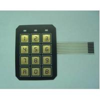 Quality Electrical PC / PVC Waterproof Membrane Switch With 3M9448 / LES300 Adhesive for sale