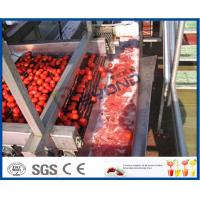 Buy cheap Full / Semi Automatic Tomato Processing Equipment For Tomato Processing Plant product
