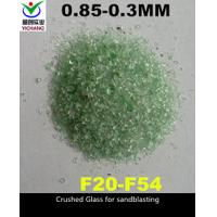 Buy cheap 6.0 Moh Hardness Recycled Crushed Glass Abrasive For Cleaning And Removing The Flash product