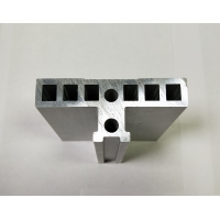 Buy cheap Mill Finish Anodizing Silver CNC Machining Extruded Aluminum Profiles product