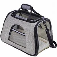 Buy cheap Soft Sided Airline Approved Pet Carrier Bag With Replaceable Skin Covers product
