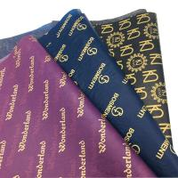 China Custom Printed Logo Gift Wrapping Paper Clothing Tissue Paper  WhatsApp +1 7082690275 on sale