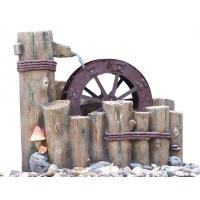 Buy cheap Water Wheel Decorative Outdoor Tiered Water Fountains Easy Install product