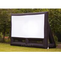 Buy cheap Custom 6 Meter Inflatable Cinema Screen Flame Retardant For Parties / Weddings product