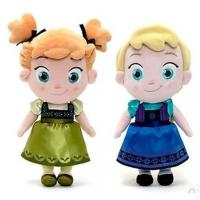 Buy cheap Small Girls Disney Plush Toys Elsa And Anna Frozen Baby Dolls 30cm product