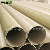 Buy cheap ASTM A312 316L stainless steel seamless welded stainless steel ERW pipe product