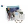 Buy cheap Clear Acrylic Desk Organizer / Office Desk Organizer With 12 1/2″ X 7″ X 6″ product