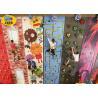 Buy cheap Freestanding Plastic Rock Climbing Wall , Safe Kids Outdoor Climbing Wall product