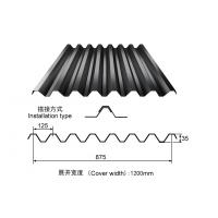 Buy cheap Black Color Q235 Prepainted Steel Roofing Sheet for house roofings product