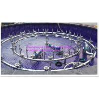 Buy cheap Led Underwater Lights 2 Rings Programe Fountain 3 Patterns With Pump / Pipe Frame product
