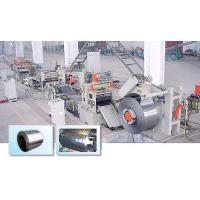 Quality Q3105 / Q5052 Aluminum Roll Tube Mill Plant Slitting And Flattening Line for sale