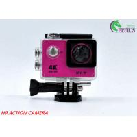 Buy cheap 30M Waterproof 4k Sports Action Camera Original H9 170 Degree With USB 2.0 product