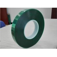 Buy cheap Polyester High Temperature Tape Green Masking tape for powder painting product