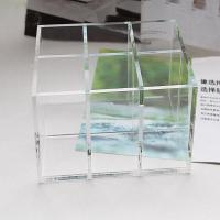 Buy cheap Clear Acrylic Cosmetic Display desktop Cosmetic lipstick Organizer product