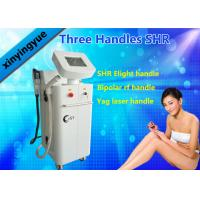 Buy cheap Multi Function ND YAG SHR Elight IPL Hair Removal Machine with 3 Handles OEM / ODM product