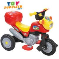 Kid's Battery Operated Pedal Motorcycle
