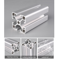 Buy cheap Warehouse Storage 0.7mm 4040 Anodized Extruded Aluminum 6061 T5 product
