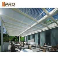 Buy cheap Electric Remote Control Aluminium Pergola System Outdoor For Garden product