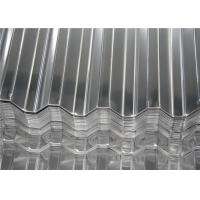 Buy cheap Aluminum Magnesium Corrugated Roof Panels / Metal Roofing Sheet Width 500 - 1500 mm product