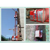 Buy cheap Temporary Rack And Pinion Building Hoist , Industrial Lifting Hoist Equipment product