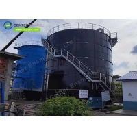 Buy cheap Bolted Steel Industrial Water Storage Tanks Customized Color product
