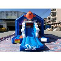 Buy cheap small inflatable bounce house bouncy Castle With Slide Combo Jumper For Inflatable Games bounce house slide combo product