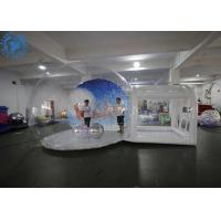 Buy cheap Hot Air Welding Large Inflatable Snow Globe / Custom Christmas Ornaments product