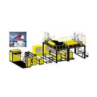 Quality DYF-2000 DYF Series High Speed Compound Air Bubble Film Machine for sale