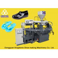 Buy cheap PVC Rotary Table Injection Molding Machine , Automatic PCU Slipper Making from wholesalers