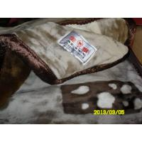 Buy cheap Custom Breathable Elastic Acrylic Mink Blanket Warmth For Home / Hotel product