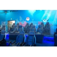 Buy cheap Black Motion Seat Cinema 5D Simulator System With Three Dimensional Movies product
