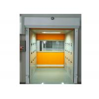 Buy cheap PVC Rolling Shutter Door Cleanroom Air Shower Micro-electronics PLC Control System product
