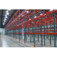 Buy cheap USA Q235B Steel Teardrop Pallet Rack for Warehouse product