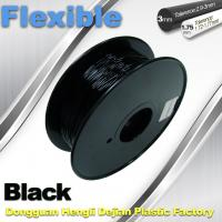 Buy cheap 1.75mm / 3.0mm 3D Printing Rubber Filament Flexible Material Tasteless And Odorless product
