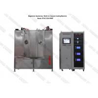 Buy cheap MF Magnetron Sputtering Coating Machine, MF Sputtering Black Film Coating Plant, Blackish TiCN, CrC Film Vacuum Coater product