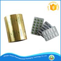 Buy cheap Pharmaceutical Blister Aluminium Foil 25 micron Coated With Heat Sealing and primer Lacquer For Tablet Pack product