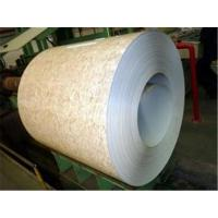 Buy cheap 260Mpa - 320Mpa Prepainted Galvalume Steel Coil Overlay Film PPGL Coil product