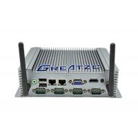 Buy cheap i5-3337U Fanless Industrial Pc With 6 COM Ports , 2* Gigabit Network Card product