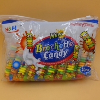 Buy cheap Fruit Flavors Brochette Sugar Free Peppermint Candy / Round Shape Compressed Candy product