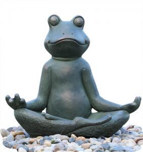 Buy cheap Distinctive Frog Water Fountain  Outdoor Garden Fountains Environmental Friendly product