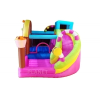 Buy cheap Mini Outdoor Home Yard Inflatable Bouncer Bounce House Jumping Bouncy Castle from wholesalers