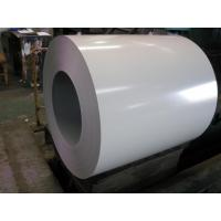 Buy cheap PE Resin Color Coated Galvanized Steel Coil 25um 2/1 layers PPGL Coil product