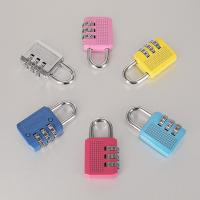 Buy cheap Colorful Resettable Combination Padlock 3 Digit Password Suicase Padlock product