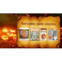 Buy cheap Die Cut Cellophane halloween treat bags Handle For Hallowmas Party product