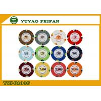 Quality High Quality 1000 Clay Poker Chips For Supermarket / Chain Shops for sale