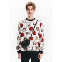 Buy cheap Men's New Latest Design Fleece Sweatshirt with All over Printed pullover product