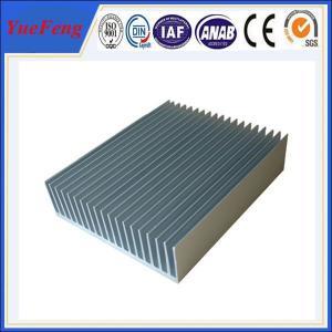 Buy cheap industry aluminum profiles heatsink, OEM customized drawing industrial aluminum heat sink product